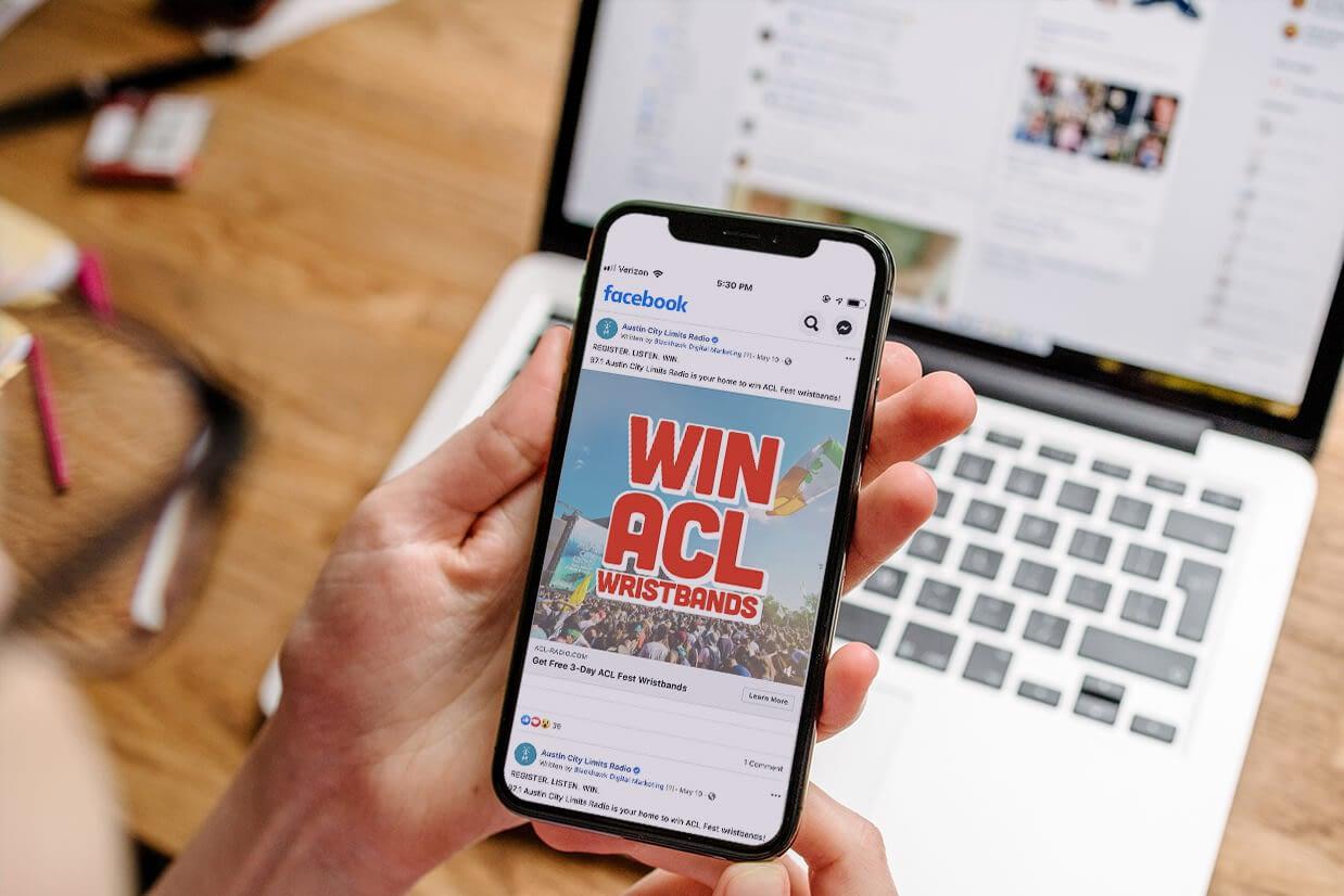 Blackhawk | ACL Radio Case Study 1 | Austin Digital Marketing Agency
