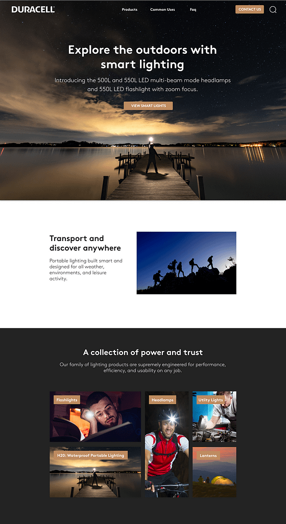 Blackhawk | Desktop Homepage Layout 3 | Austin Digital Marketing Agency