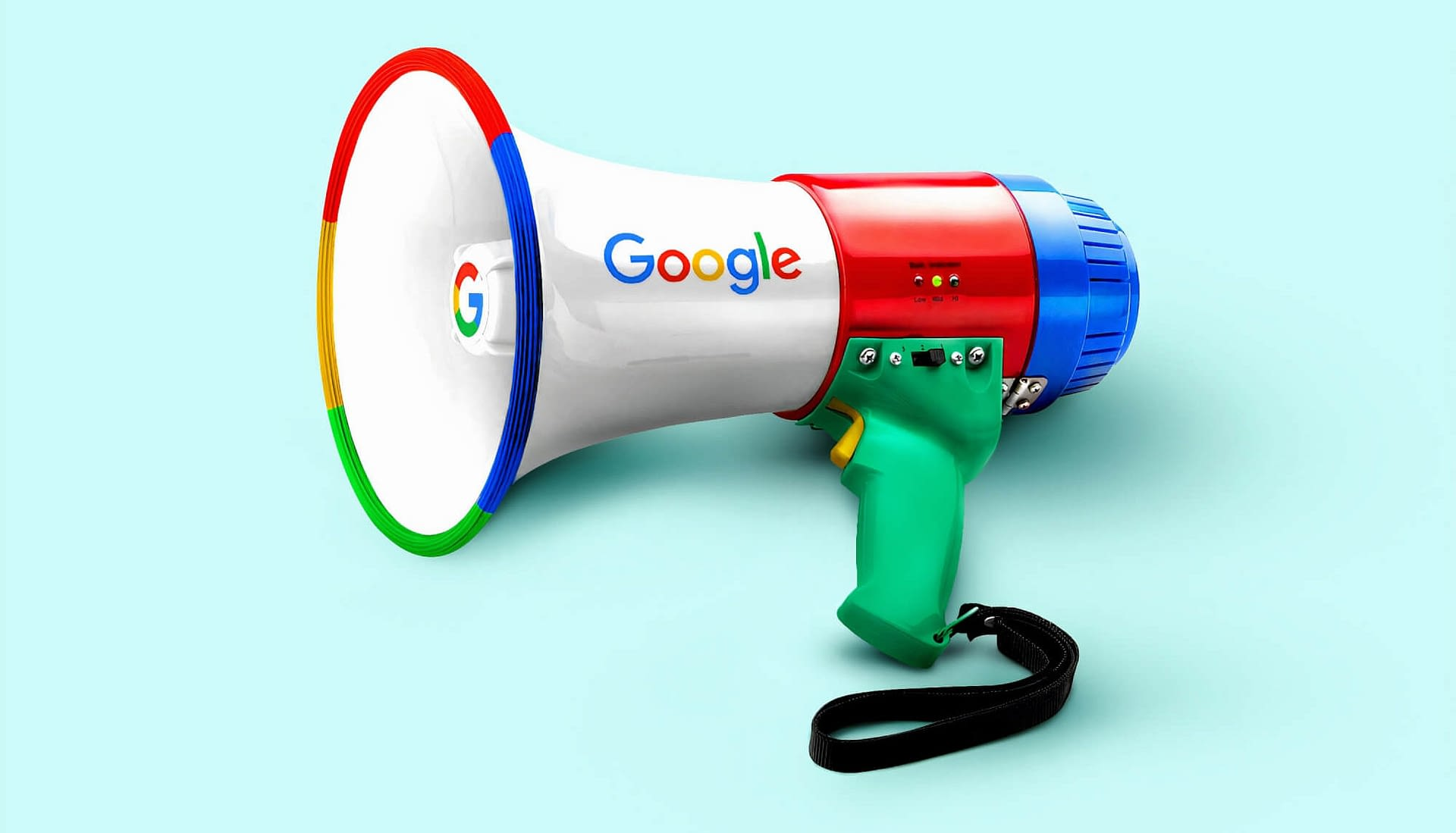 Google Search Engine Megaphone