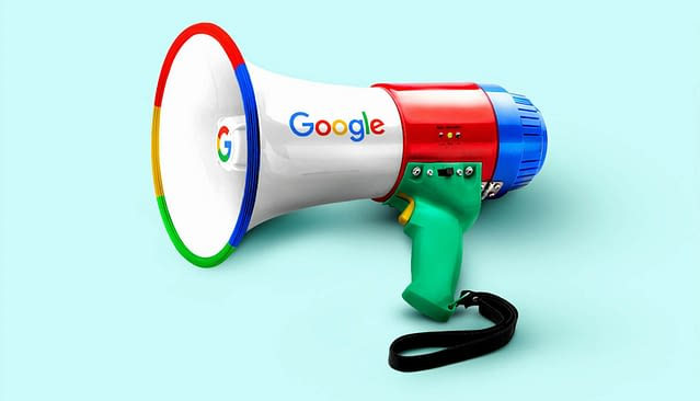 Google Search Engine Megaphone
