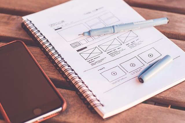 notebook plans diagram