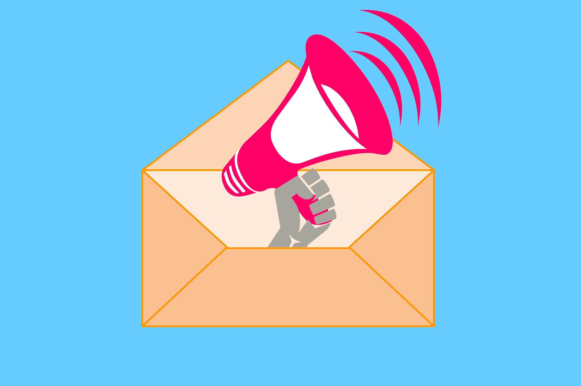 email letter announcement speaker