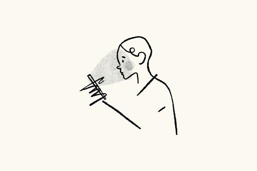 man illustrated