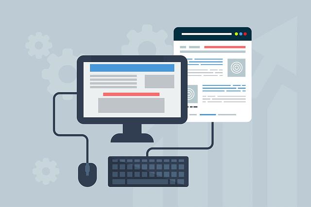 custom-designed website